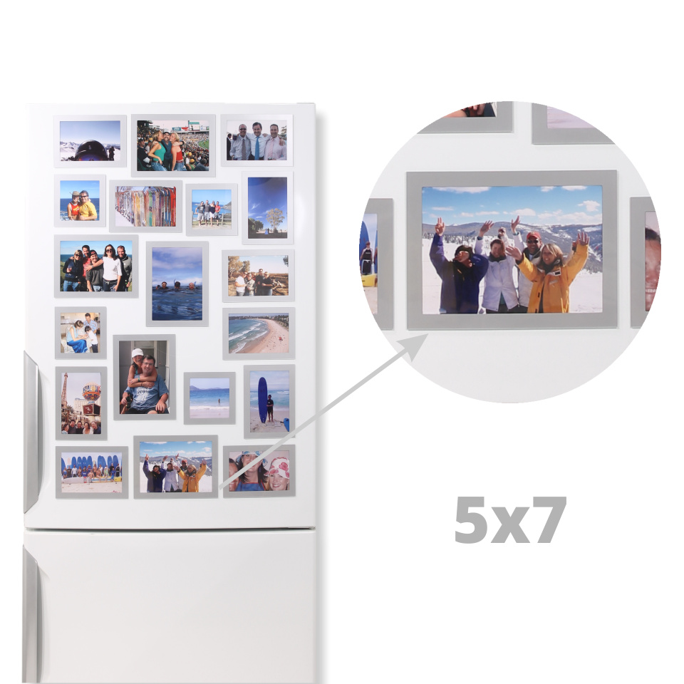 Magnetic Photo Frames 5x7 Horizontal