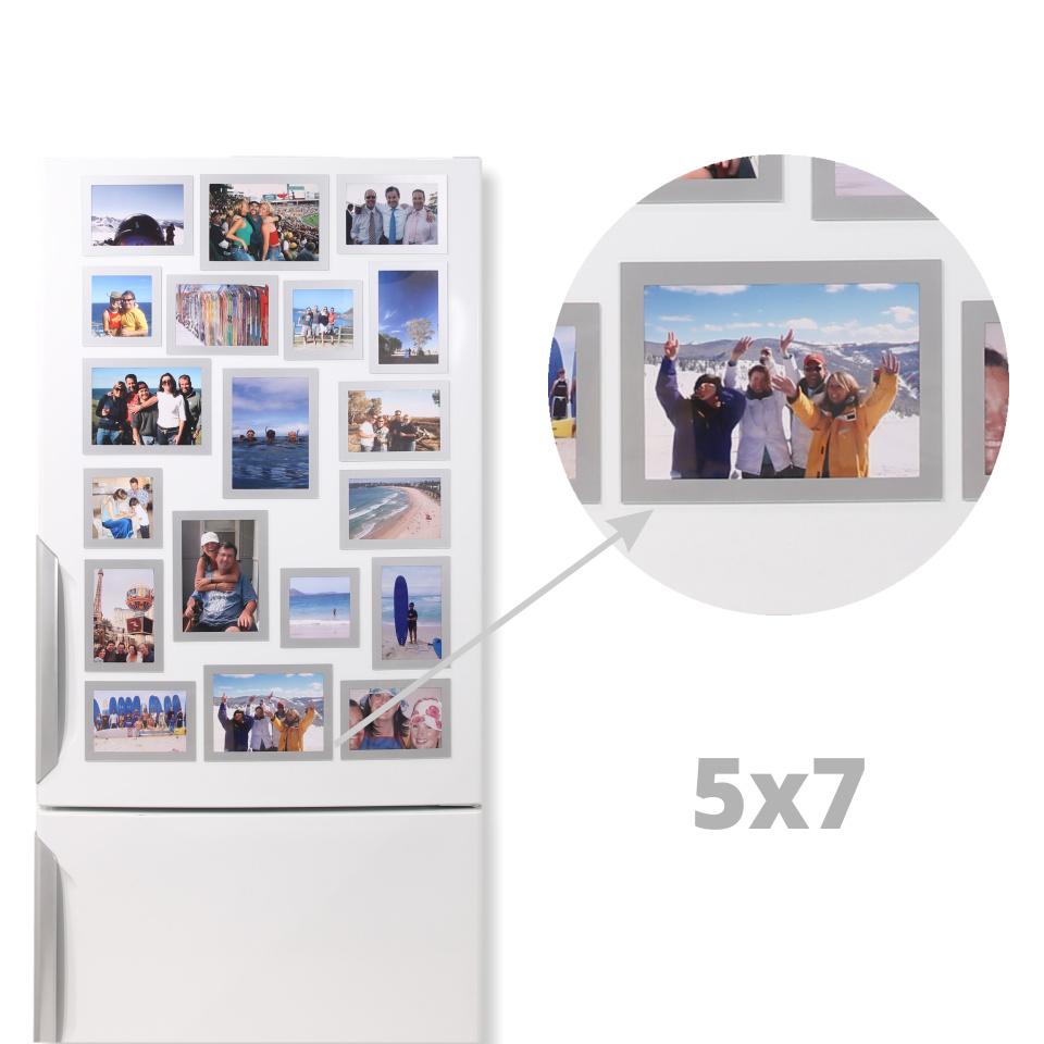 Magnetic Photo Frames 5x7 Horizontal