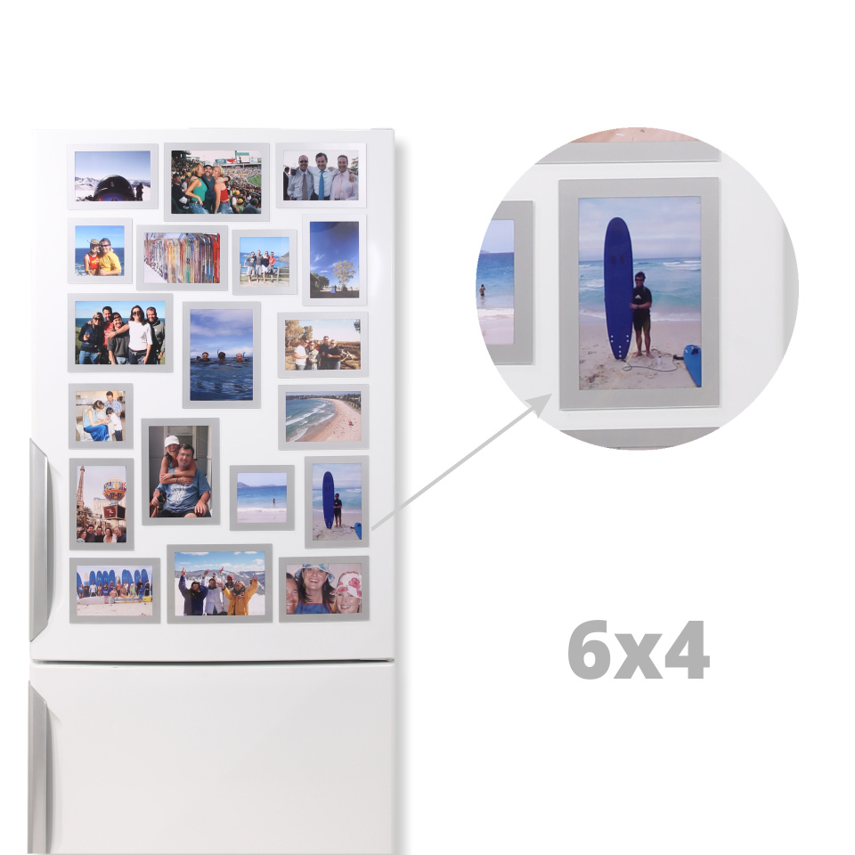 Magnetic Photo Frames 6x4 Vertical