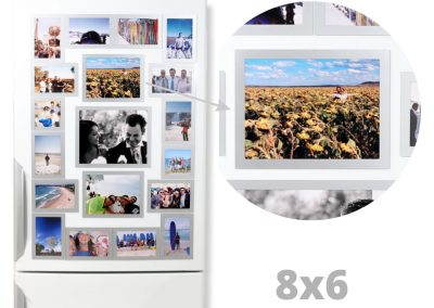 Magnetic Photo Frames 8×6