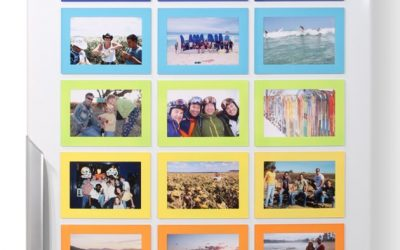 Try some Coloured Magnetic Photo Frames
