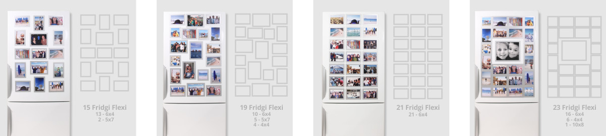 Magnetic Photo Frames - Simple, Stylish, High Quality