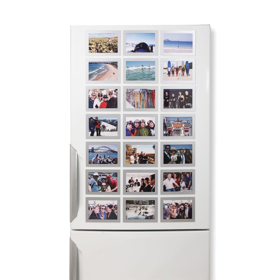 Magnetic Photo Frames 6x4 on frdge