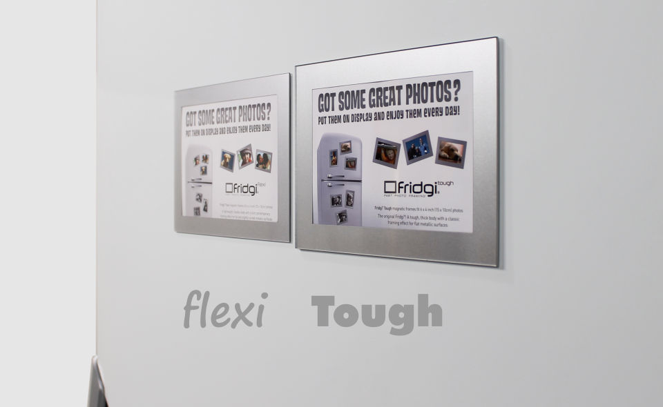 Fridgi Flexi v Tough Magnetic Frames