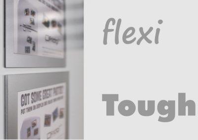 Flexi v Tough magnetic picture frames