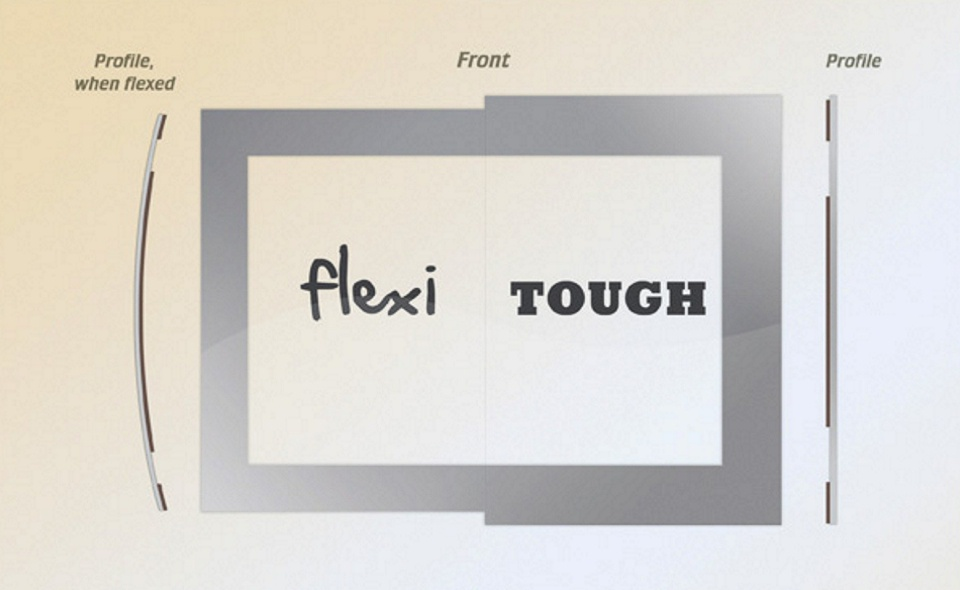 Flexi vs Tough comparison FRONT