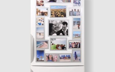 Try some Big Magnetic Photo Frames?
