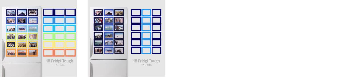 Fridgi Tough Frame Sets